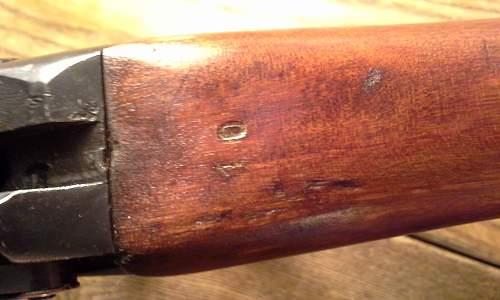 Lee enfield buttstock repair