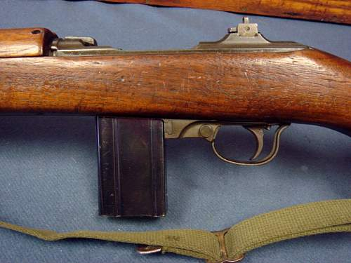 New 100% WWII correct M1 carbine