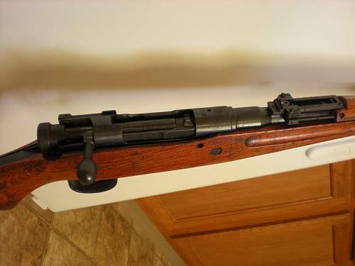 Unknown Japanese Rifle