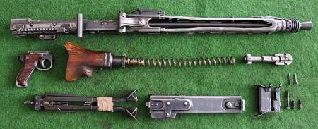 MP44 bolt and handle