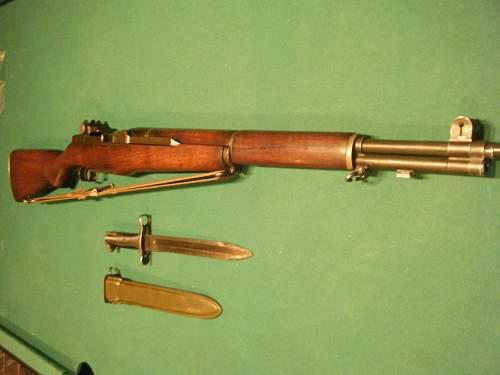 My WWII Springfield Garand