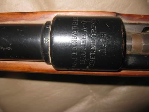 Mauser 1915 Oberndorf....caliber/mm
