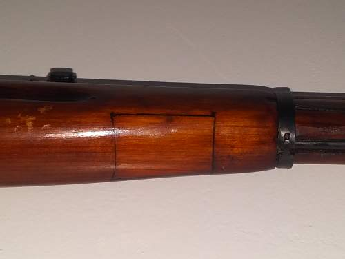 Non-Refurbish M91/30 Mosin Nagant.