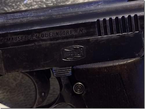 Mauser Pistol