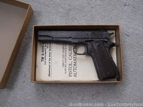 MINT CONDITION WWII 1911 up for grabs!