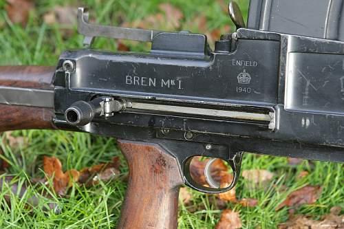 Bren Mk.I Enfield 1940 King's Crown
