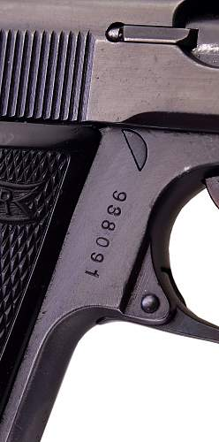 Walther PP with RFV markings