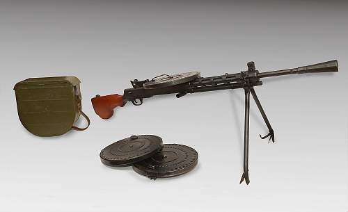 Deactivated DP28 Machine Gun
