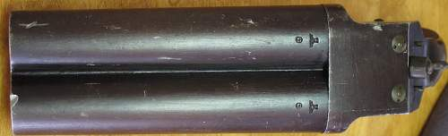 Luftwaffe Double Barrell Flare Pistol