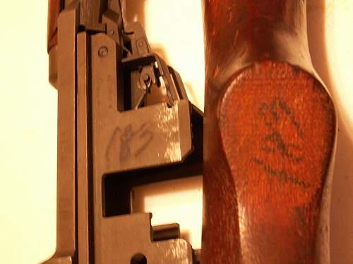 1943 Springfield M1 Garand