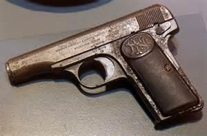 FN Browning M1910 Pistol in 7.65mm/.32 ACP