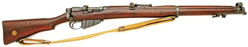 Queensland Police SMLE No.1 Mk.III for sale on US auction site