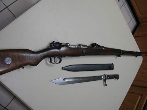 1916 Amberg Mauser