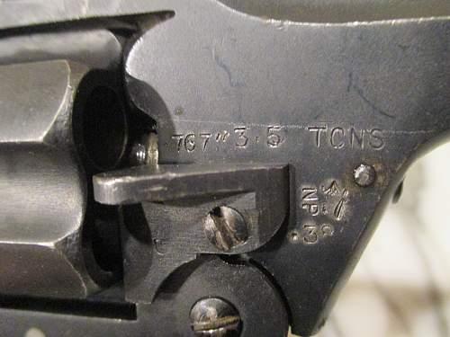 Enfield No.2 MK-1* revolver 1940
