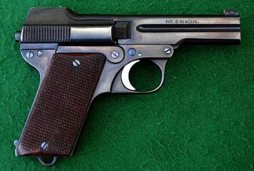 Steyr 1908/34 Police pistol...does anyone have any deeper info?  Thanks