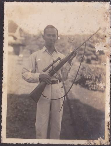 Dutch East Indies Gewehr 98 Hunting Rifle ?