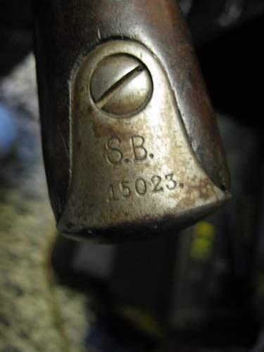 Need help to ID marks on a Kar98a
