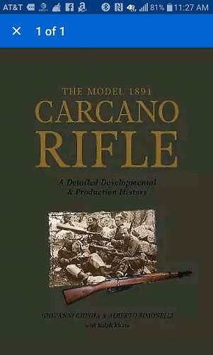 Italian carcano question
