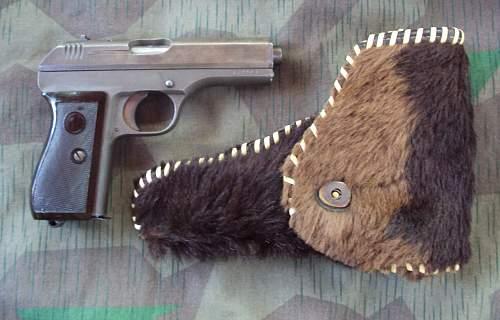"My ""New"" CZ 27/Pistole Modell 27 (t) and Ersatz Holster"
