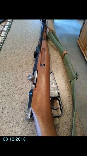 1953 Polish M44 Unissued