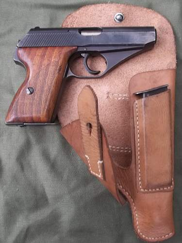 MAUSER HSc IN TAN RBN HOLSTER