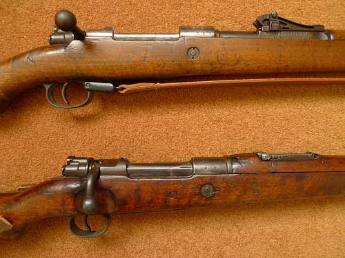 WW1 Mausers