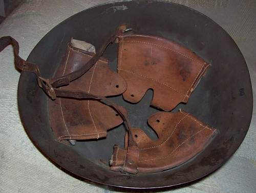 Identifying WW2 Japanese Helmet- NO CLUE:)