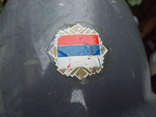 Italian / Serbian Helmet