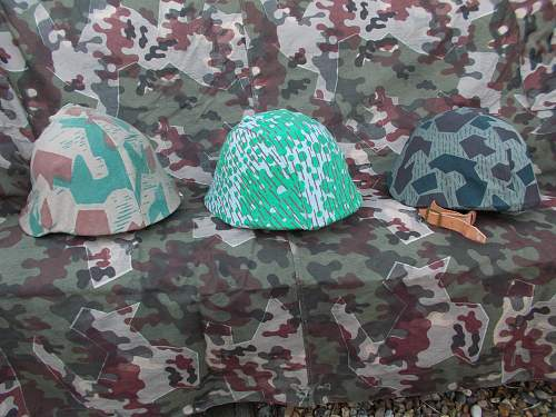 Helmets and Camo covers