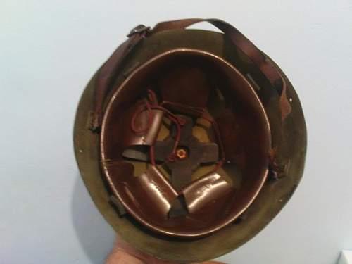 Greek M34-39 helmet