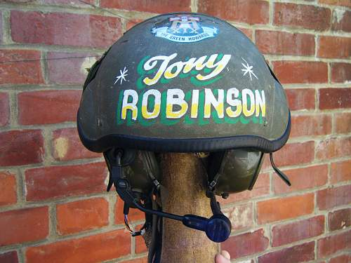 Tankers helmet with a twist....