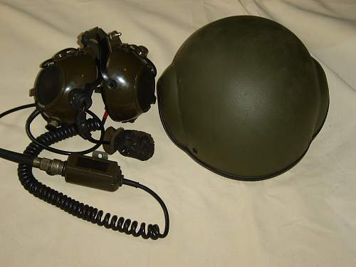 Brit Armoured Crew helmet.