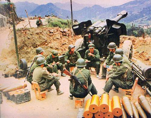 Chinese Peoples Liberation Army helmets