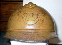 French Adrian M-26 Steel Helmets