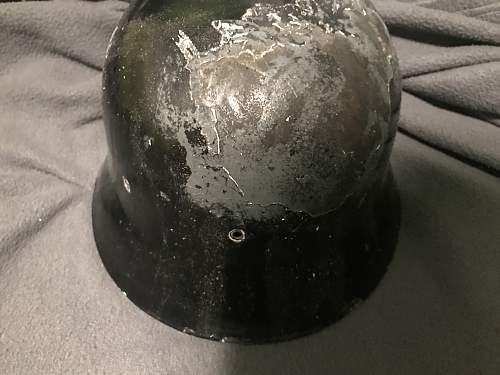 Spain Helmet WW2  used by Firedepartment