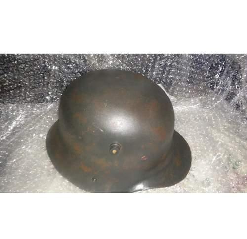 Is this m1916 German WW1 helmet fake?