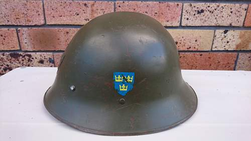 Swedish helmet, looking for further information