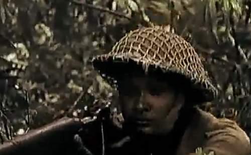 the British in Vietnam post WW2 the MkII helmet was used in Vietnam