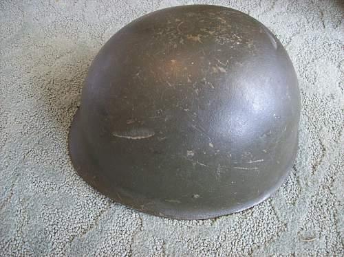 M60 West german Helmet?