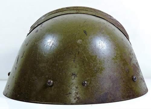 Oddball Czech Vz 32 Helmet with Comb. Help!