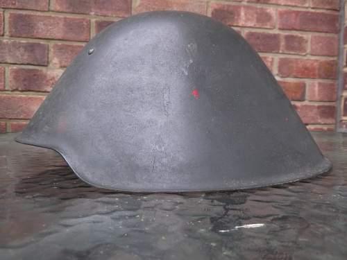 DDR NVA M56 Stahlhelm