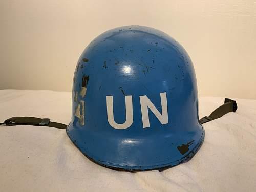 United Nations Dutch M53 helmet?