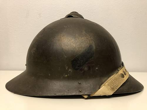 """Most likely Sohlberg M/17, but what is this """"decal"""" ?"""