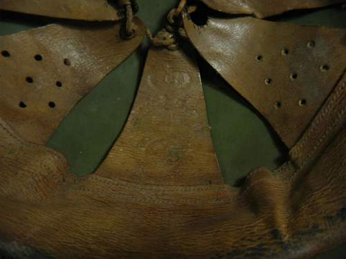 Greek helmet liners and chinstraps