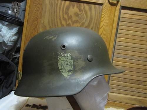 Norwegian helmet