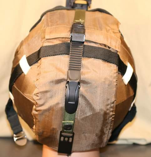 Russian spetnartz  titanium helmet or is it?