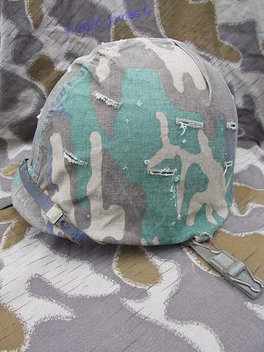 Austrian M75 helmet covers