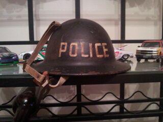 WWI Police Helmet?