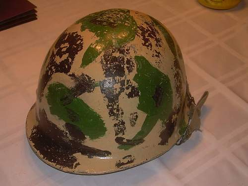 IRAQI Republican Guard  helmet recently sold on ebay for over 5