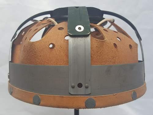 "Helmets of the West-German ""Bundesgrenzschutz"" - ""Federal Border Guard "" - M 1953 - Part 1"
